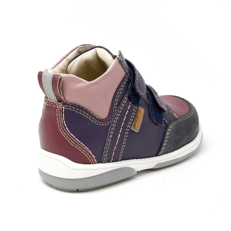 Memo Polo Junior Kinderschuh_Pink_Lila_PHILmed