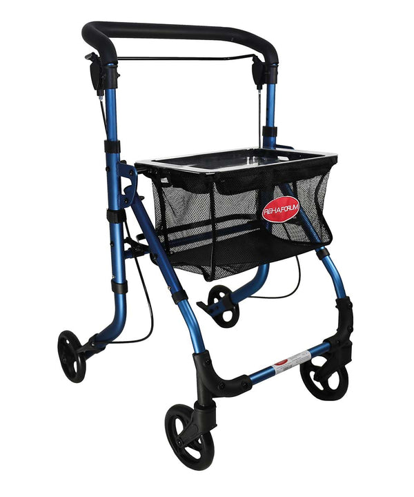 Rehaforum Medical Indoor Rollator Actimo Home, blau - PHILmed Gesundheit