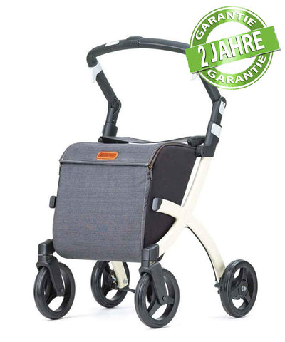 Rollz Einkaufs-Rollator Rollz Flex, Denim Grey