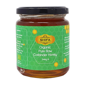 Organic Pure Raw Coriander Honey 340g