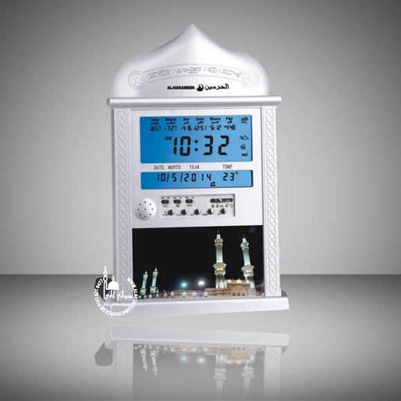 DIGITAL AUTOMATIC ISLAMIC AZAN ALARM CLOCK