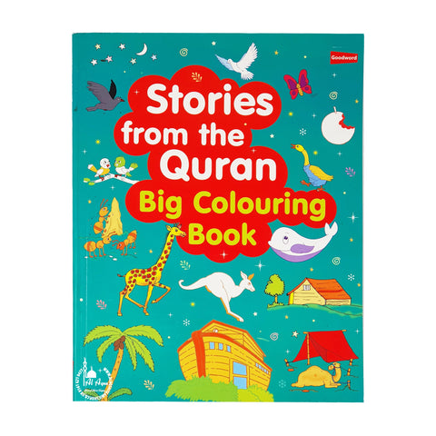 Stories From The Quran Big Colouring Book