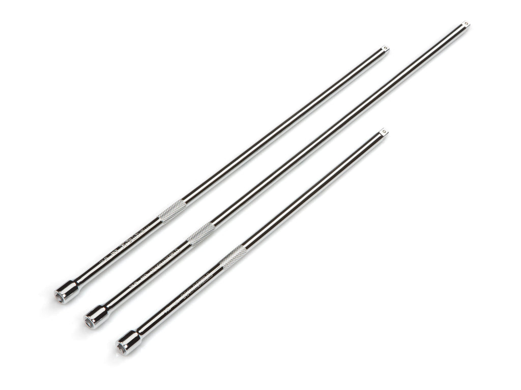 TEKTON 15605 1/4-Inch Drive Long Extension Bar Set, 3-Piece