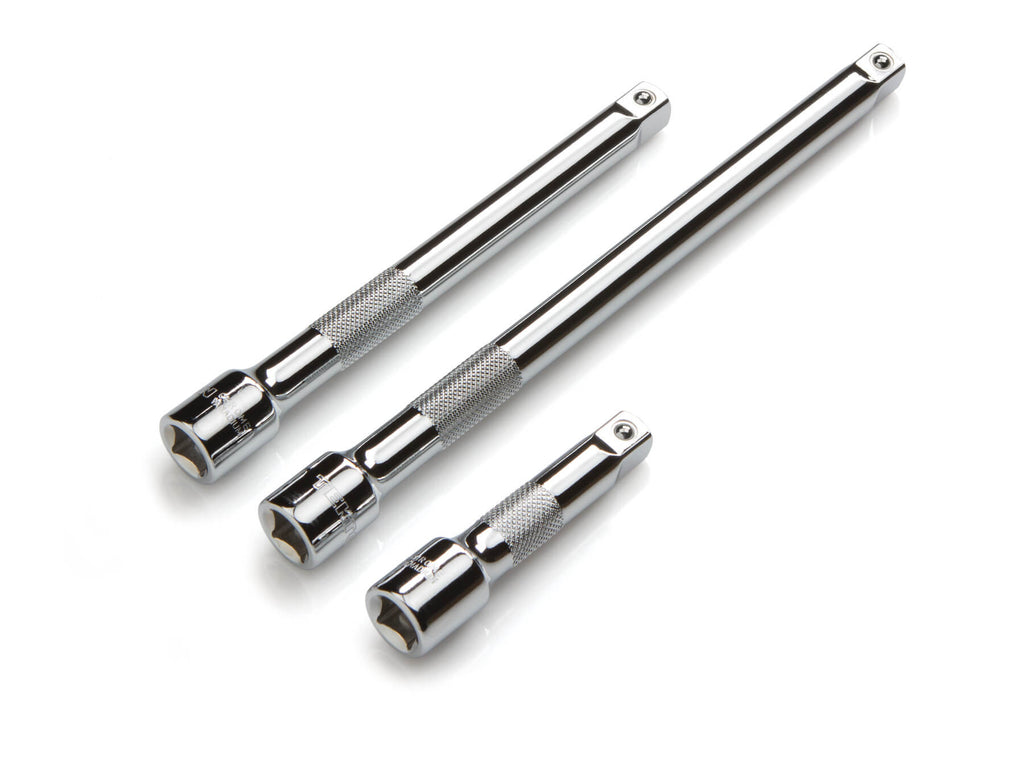 TEKTON 1601 3/8-Inch Drive Extension Bar Set, 3-Piece