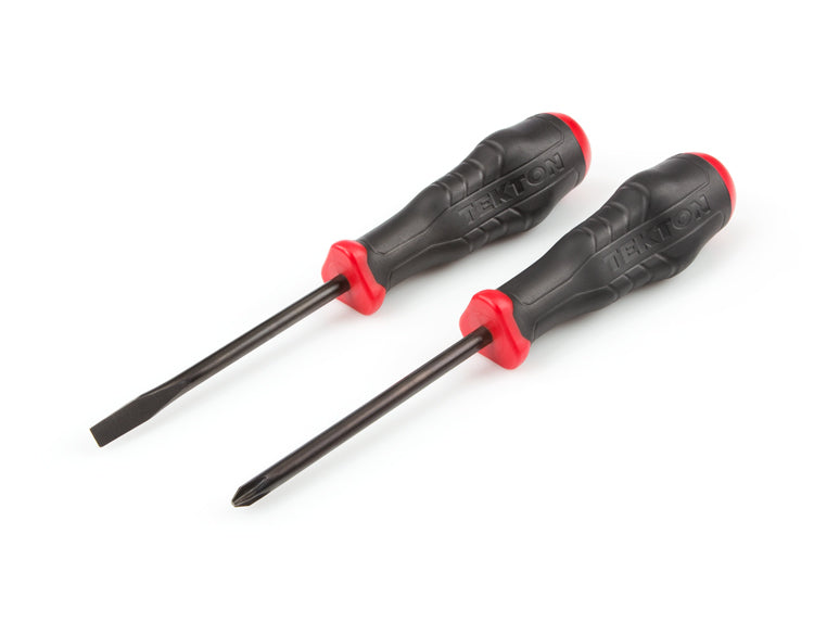 TEKTON 26752 Slotted and Phillips Screwdriver Set, 2-Piece