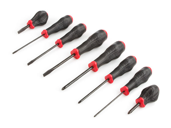 Tekton 26755 Slotted and Phillips Screwdriver Set, 8-Piece
