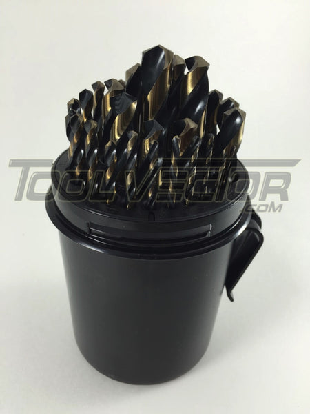 Stark Elite USA 29 Pc Black and Gold Drill Bit Set