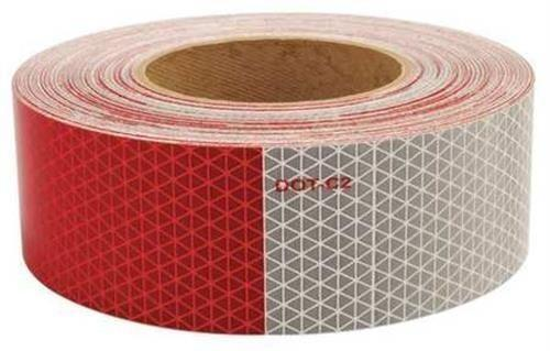"Stark 57809 2"" X 150' Dot 2 Certified Reflective Conspicuity Safety Tape"