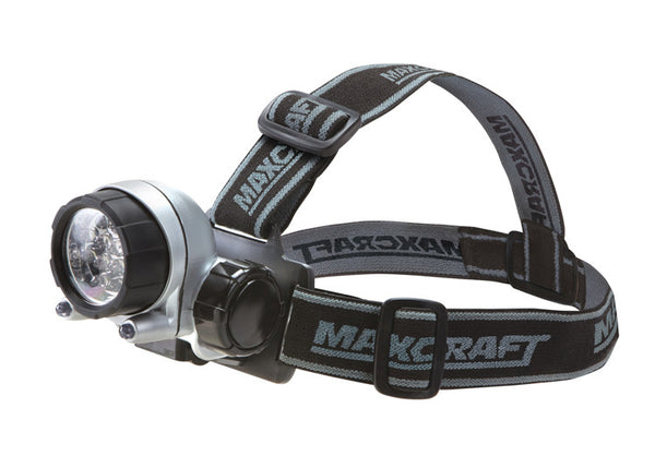 Maxcraft 60197 14 LED Ultra Bright Headband Worklight