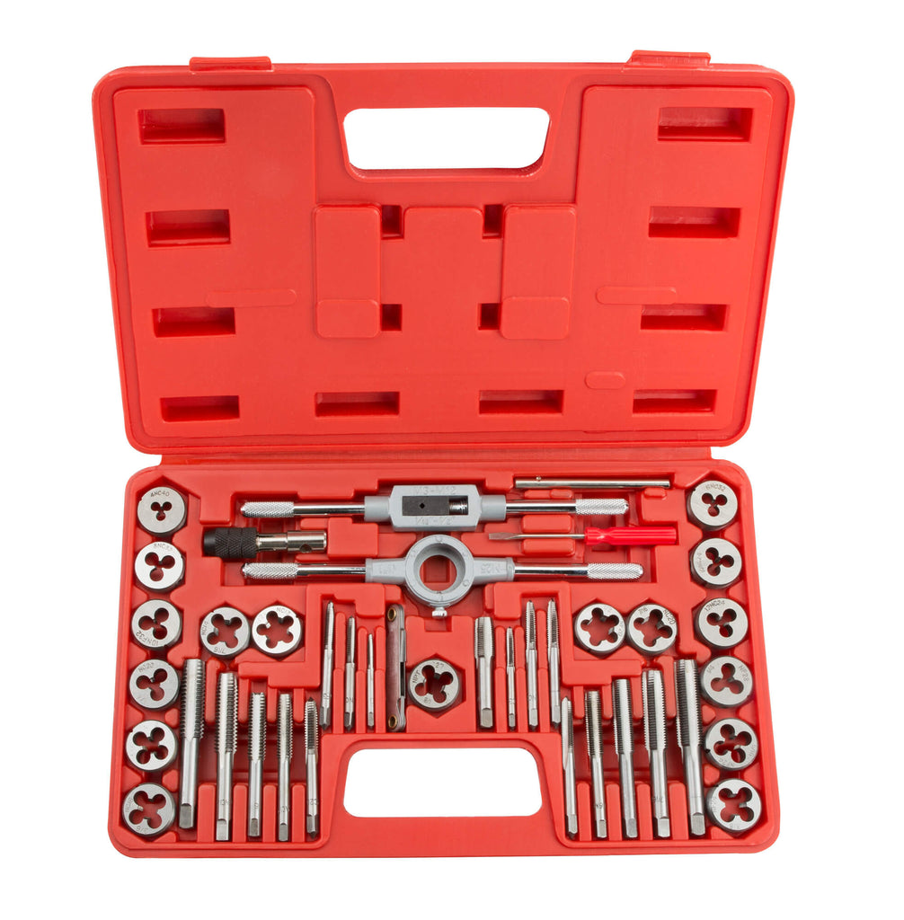 TEKTON 7559 Tap and Die Set, Metric, 39-Piece