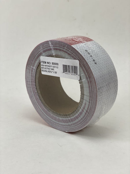 "Boxer 80050 2"" x 50' DOT Reflective Conspicuity Tape"