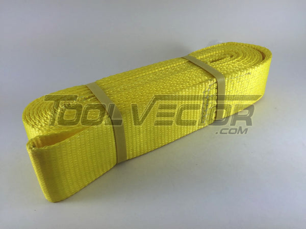 "Boxer 98330R 3"" x 30' USA Tow Strap, 30000 lb Rated"