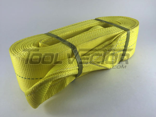 "Boxer 98430R 4"" x 30' USA Tow Strap, 40000 lb Rated"