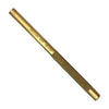 "Wilde USA Solid Brass Drift Pin Punch 3/8"" x 6"", BP1232"