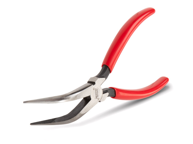 Tekton PGF10406 6 in. Bent Long Nose Pliers, 70-Deg.