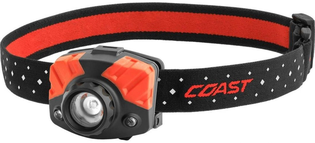 Coast FL75R Rechargeable Focusing 530 Lumen LED Headlamp