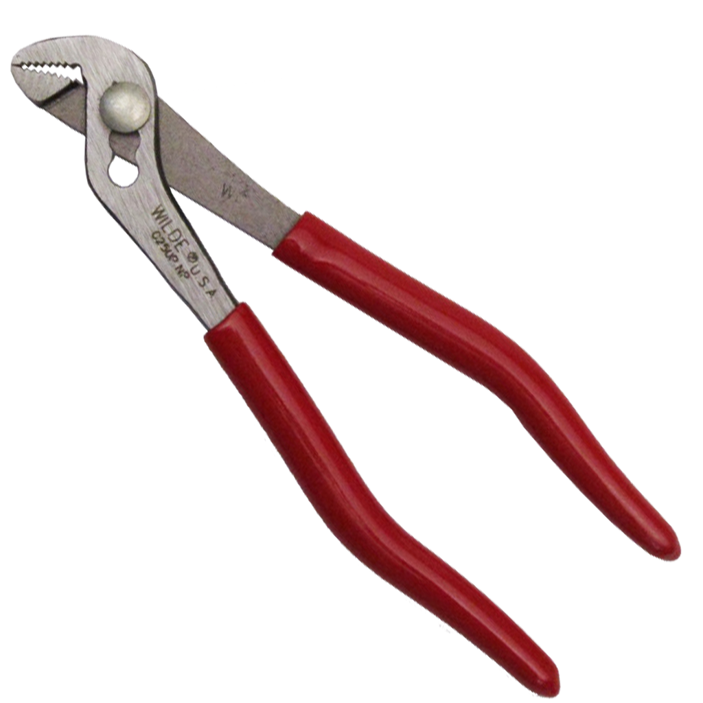 Wilde USA 5-Inch Angle Nose Slip Joint Pliers, G250P