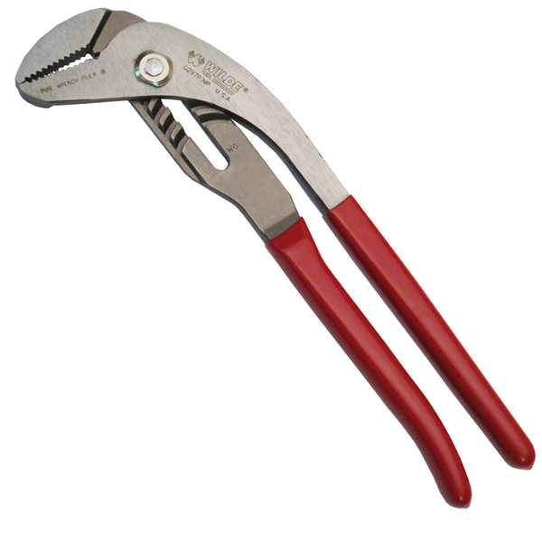 Wilde USA 10-Inch 90 Degree Pipe Wrench Pliers, G297P