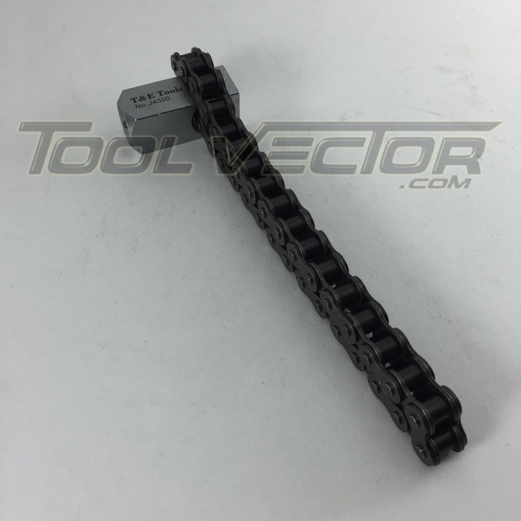 T&E Tools J4300 Chain Type Strap Wrench