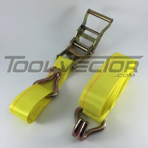 "Boxer 2"" x 18' USA Ratcheting Tie Down"
