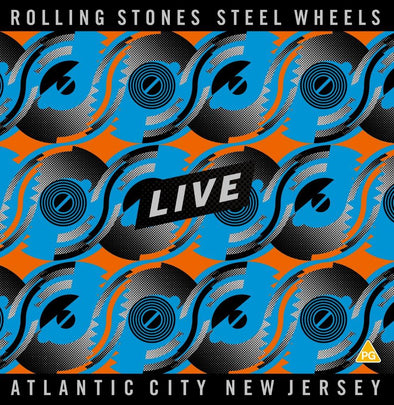 Rolling Stones - Steel Wheels Live – Atlantic City, New Jersey
