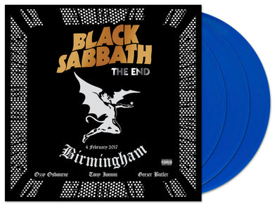 BLACK SABBATH – THE END (2020 colour vinyl reissue)