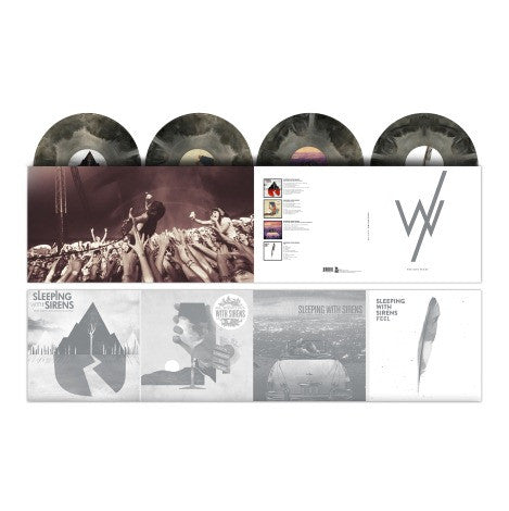 Sleeping With Sirens - The Rise Years<br>4 LP Set