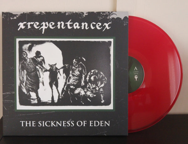 "Repentance - The Sickness Of Eden<br>12"" Vinyl - Monkey Boy Records - 2"