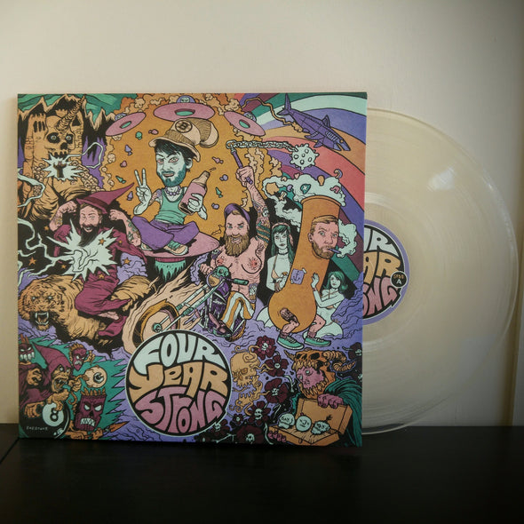 "Four Year Strong - S/T<br>12"" Vinyl Vinyl LP - Elsewhere"