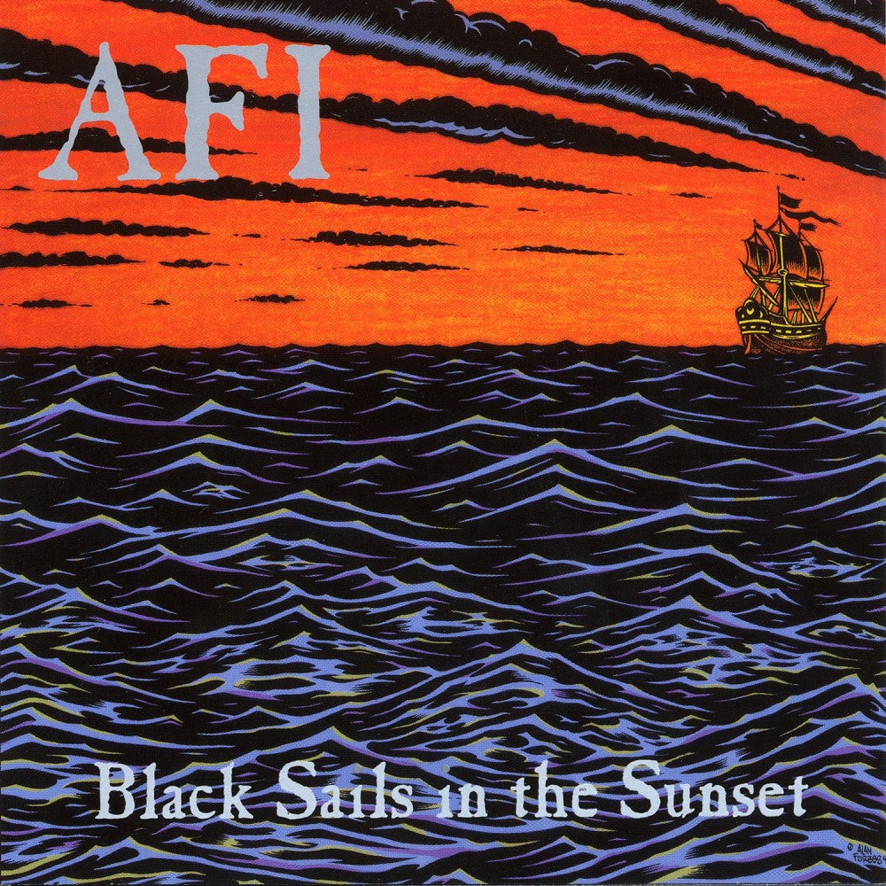 "AFI - Black Sails In The Sunset<br>12"" Vinyl - Monkey Boy Records"