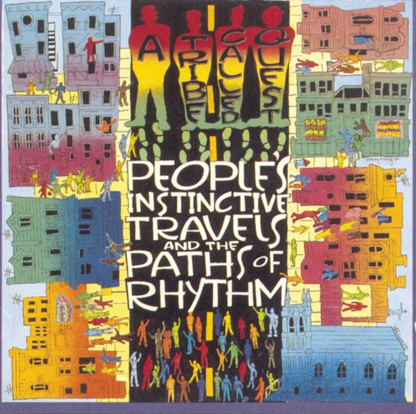 A Tribe Called Quest - People's Instinctive Travels and The Paths Of Rhythm<br>Vinyl LP