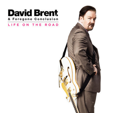 David Brent & Foregone Conclusion - Life On The Road<br>Vinyl LP - Monkey Boy Records