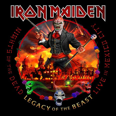 Iron Maiden - Nights Of The Dead - Legacy Of The Beast: Live In Mexico City