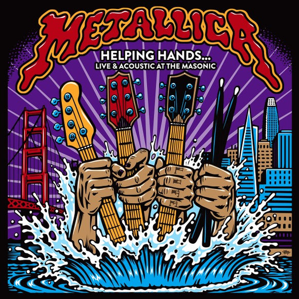 METALLICA - HELPING HANDS LIVE & ACOUSTIC AT THE MASONIC