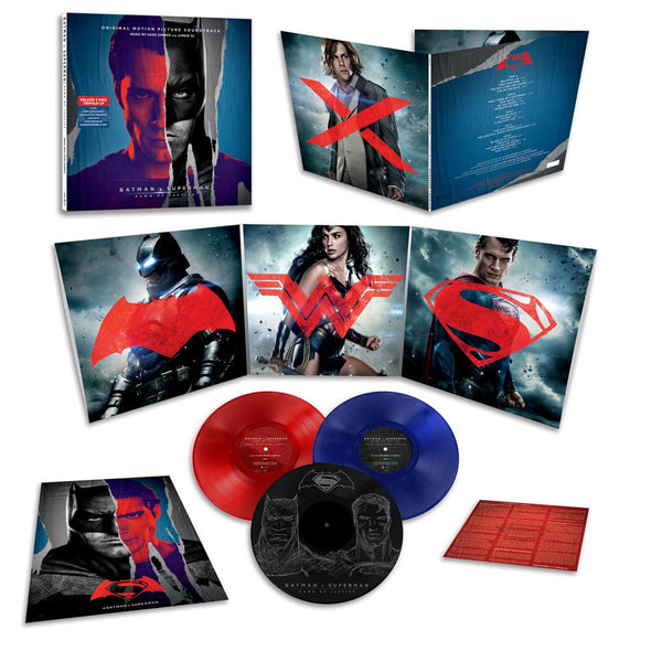 Batman v Superman: Dawn of Justice Soundtrack by Hans Zimmer and Junkie XL - Monkey Boy Records - 2