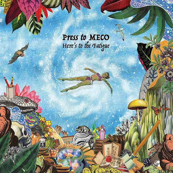 Press To MECO - Here's to the Fatigue<br>Vinyl LP