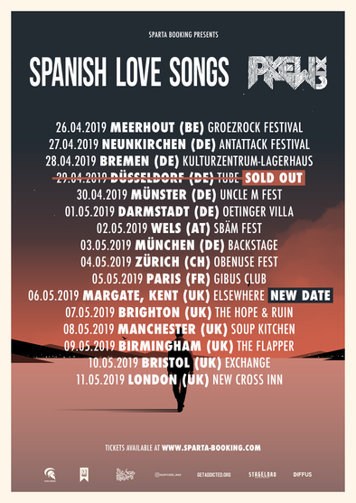 Spanish Love Songs + Pkew Pkew Pkew