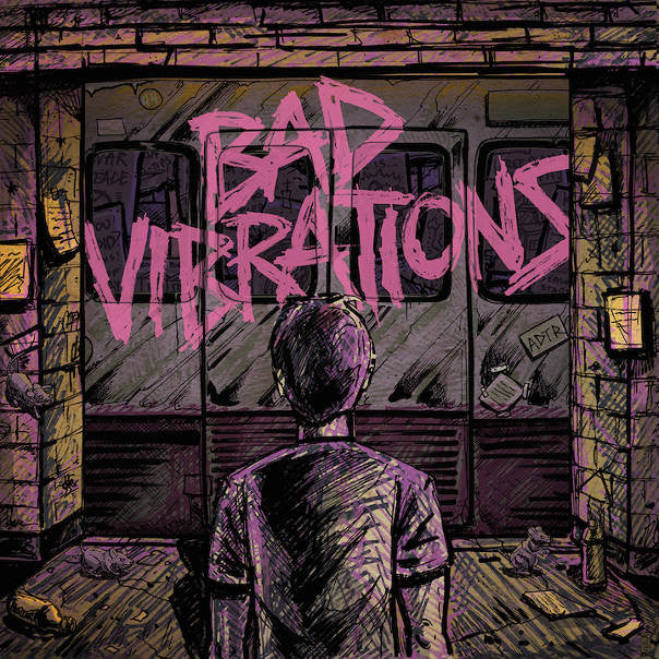 A Day To Remember - Bad Vibrations<br>Vinyl LP - Monkey Boy Records