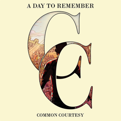 A Day To Remember - Common Courtesy<br>Vinyl LP