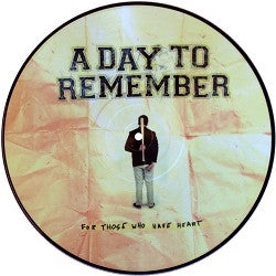 "A Day To Remember - For Those Who Have Heart<br>12"" Vinyl Vinyl LP - Elsewhere"