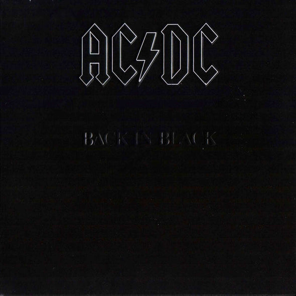 AC/DC - Back In Black<br>Vinyl LP