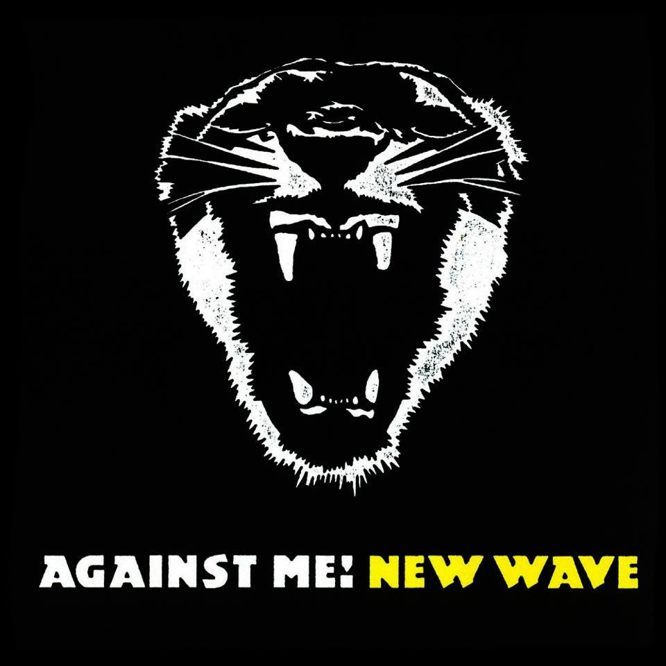 "Against Me! - New Wave<br>12"" Vinyl - Monkey Boy Records"