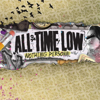 All Time Low - Nothing Personal<br>Vinyl LP - Monkey Boy Records