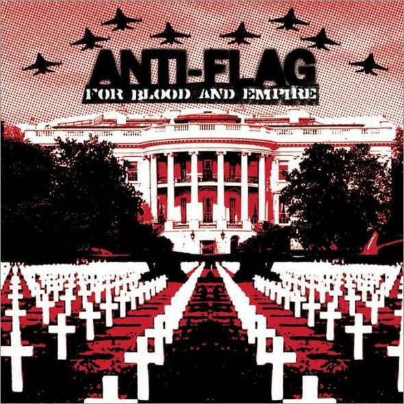 Anti-Flag - For Blood And Empire<br>Vinyl LP - Monkey Boy Records