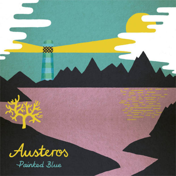 Austeros - Painted Blue<br>Vinyl LP