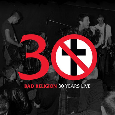 "Bad Religion - 30 Years Live<br>12"" Vinyl Vinyl LP - Elsewhere"