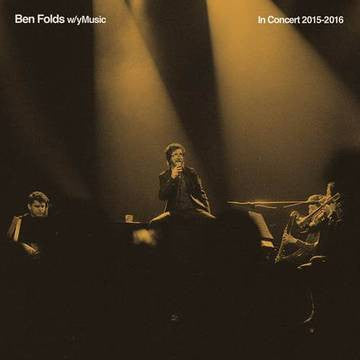"Ben Folds - In Concert 2015 - 2016<br>10"" Vinyl - Monkey Boy Records"