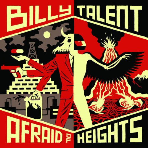 Billy Talent - Afraid Of Heights<br>Double Vinyl LP