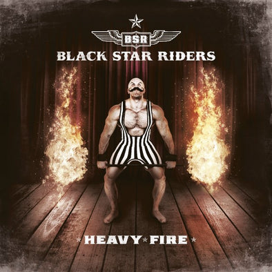 Black Star Riders - Heavy Fire<br>Vinyl LP