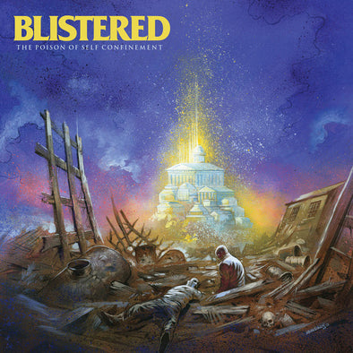"Blistered - The Poison Of Self Confinement<br>12"" Vinyl - Monkey Boy Records - 1"